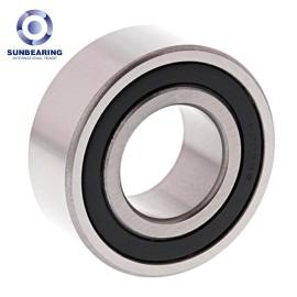 SUNBEARING 5207 Angular Contact Ball Bearing Sliver 35*72*27mm Chrome Steel GCR15