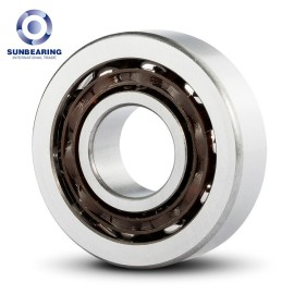 SUNBEARING 7303ADT Angular Contact Ball Bearing Silver 17*47*14mm Chrome Steel GCR15