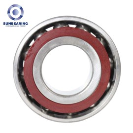 SUNBEARING 7008C Angular Contact Ball Bearing Silver 40*68*15mm Chrome Steel GCR15