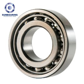 SUNBEARING 7015A Angular Contact Ball Bearing Silver 75*115*20mm Chrome Steel GCR15