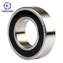 SUNBEARING 7005C Angular Contact Ball Bearing Silver 25*47*12mm Chrome Steel GCR15