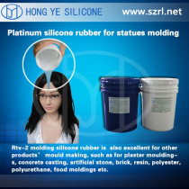 silicone rubber for simulation Entity dolls