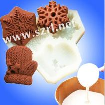 Food grade RTV liquid silicone rubber for chocolate candy mold