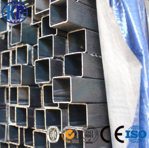 Hot sale prime welded carbon square steel pipe tube supplier from factory in china