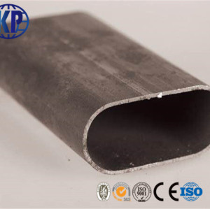 Factory direct sale high quality carbon welded oval Steel Pipe / tube suppier in China