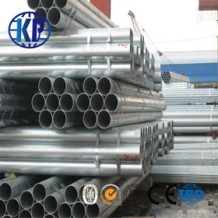 High-frequency welded China galvanized steel pipe excellent in quality over 23 years' experiences