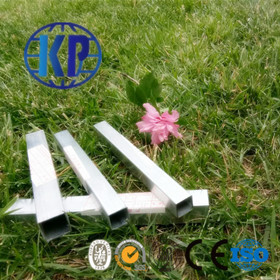 China Direct Sale High Quality Galvanized Square ERW Thin Wall Steel Pipe