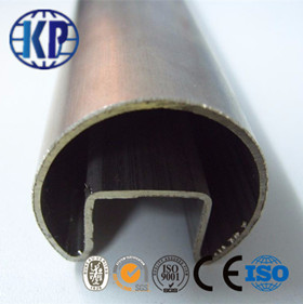 Tianjin Hot Sale Hollow Section  ERW Weld LTZ Shaped Thin Steel Pipe