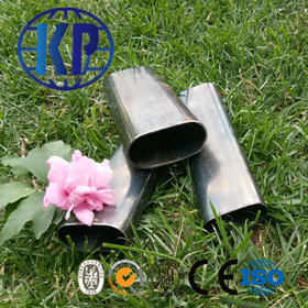 China Factory Direct Sale Low Price Black ERW Weld Oval Steel Tube Thin Wall