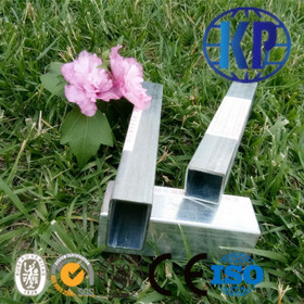 China Hot Sale Weld Pre Galvanized Square Thin Wall Steel Pipe for  Furniture