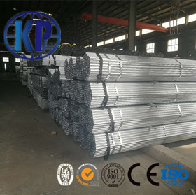 Tianjin High Quality Carbon Pre Galvanized Round Thin Steel Pipe