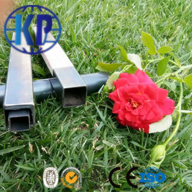 China Good Supplied ERW Black Annealing Square Thin Wall Steel Pipe