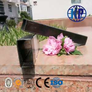 High Quality  ERW welded rectangular  thin wall 0.5-2.0mm steel pipe