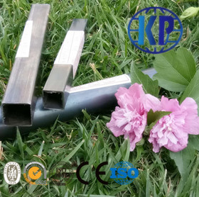 China Good Supplied Weld Black Annealed Square Size 0.6-2.0 mm Thin Wall Steel Pipe