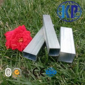 Low Price Welded ERW Galvanized Square Steel Tube Thin Wall