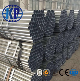 Low Price ERW Carbon Galvanized Round Steel Pipe Price List
