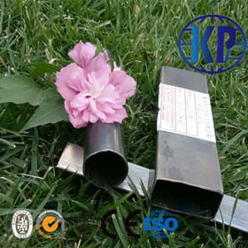 China Factory Direct Sale ERW Black Rectangular Weld Steel Pipe