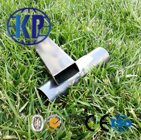 China Prime Quality Mild Welded Rectagular Steel Pipe Fitting