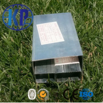 China factory direct sale carbon galvanized rectangular steel pipe