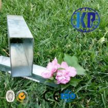 Low price hot dipped galvanized mild  steel tube rectangular