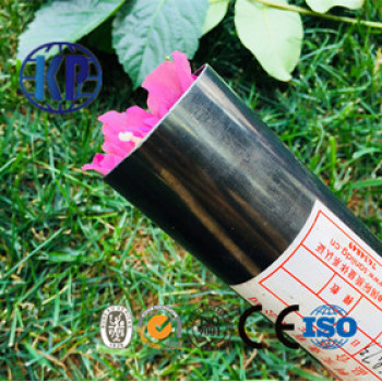 Good Suplied Round Black Tube Fitting Steel
