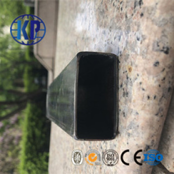 China Manufacturer Good Supplied Prime Black Welded Steel Pipe Rectangular
