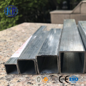 China factory direct sale prime quality galvanized carbon steel pipe square