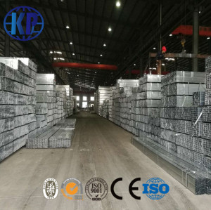 China pipe manufacturer supplied high quality zinc coated galvanized steel tube