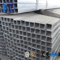 China factory direct sale mild galvanized welded square steel pipe