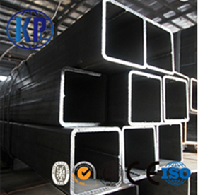 China Factory Direct Sale  Black Annealed Square Steel Pipe in High Quality