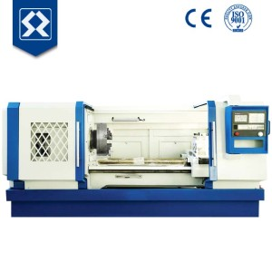 Spindle bore 200mm digitally-controlled pipe-threading lathe
