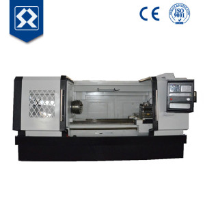 CK6263G CNC Hydraumatic Gap Bed Lathe Vertical 4 Tools/automatic screwing machine/ pipe threading lathe