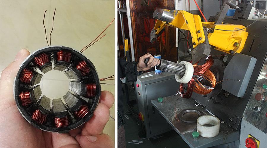 WBS solar pump 100% copper wire