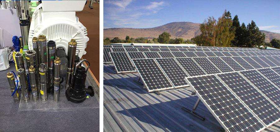 WBS SOLAR PUMP/solar panels