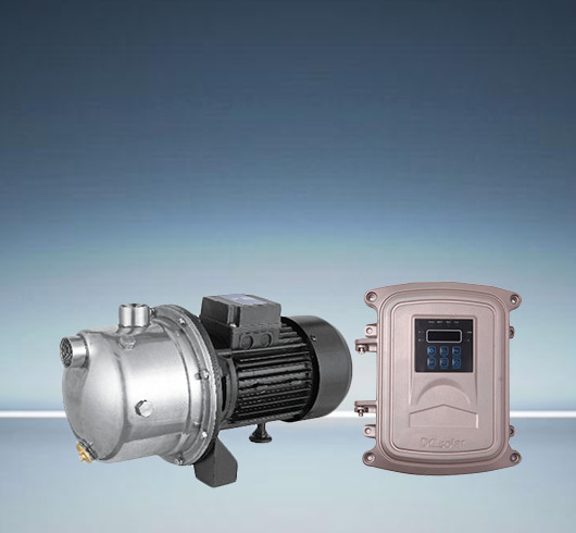 DC surface solar injection pump