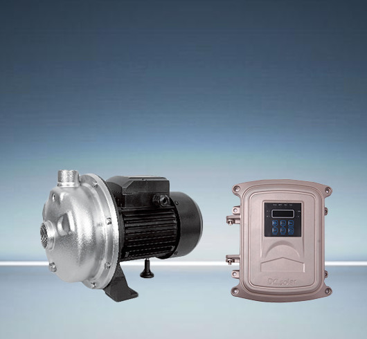 DC surface solar centrifugal pump