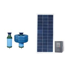 AC/DC solar aerator