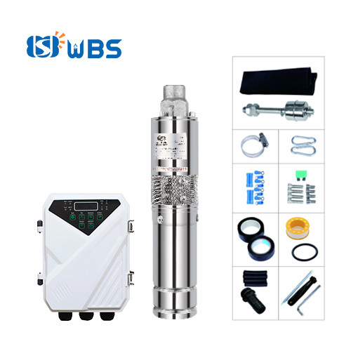 WBS solar submersible bore well pump 3inch stainless steel screw pump Australia price(free shipping)