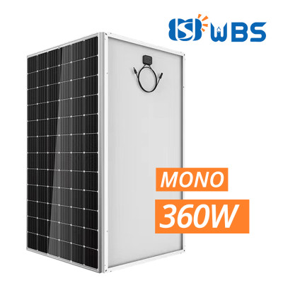 WBS 360W Mono Crystalline Module 36V with MC4 Connector 60 Cell High Efficiency - Australia Stock