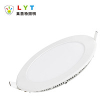 Slim recessed panel light