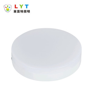 Surface Mounted Transparent Round Panel Light