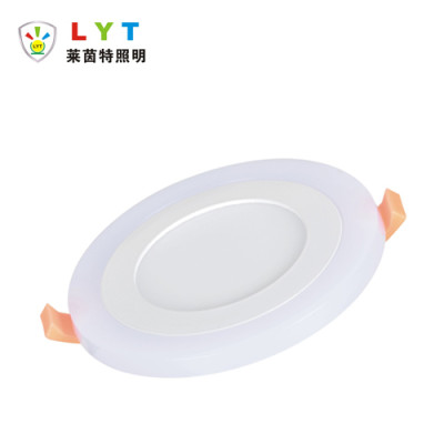 Two Color Round Panel Light