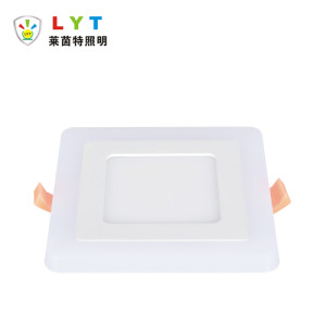 Two Color Square Panel Light
