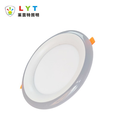 Two Color Arc Round Panel Light