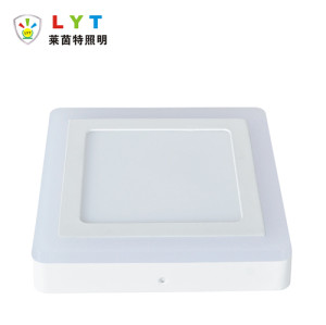 Surface Mounted Two Color Square Panel Light