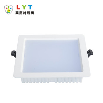 Backlit square panel light