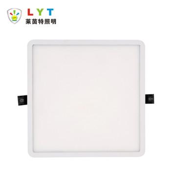 Recessed Narrow Square Panel Light