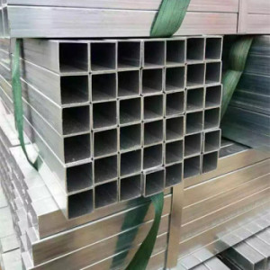 Galvanized Square and Rectangular Steel Tube for Greenhouse Building / Gi pipe
