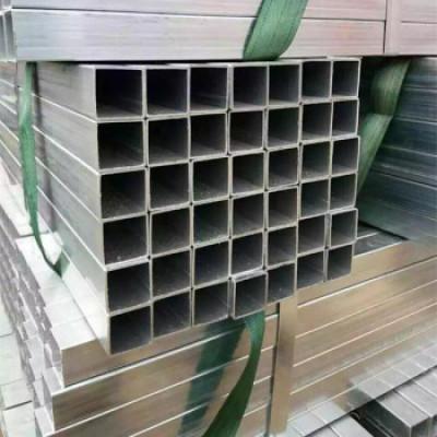 YOUFA fabrica acero al carbono galvanizado ms quare precio del peso de la tubería