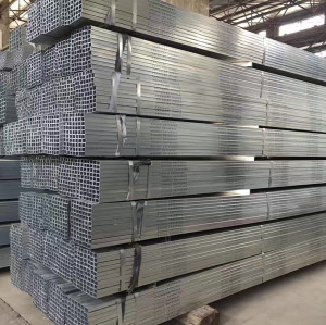 YOUFA manufacture carbon steel galvanized ms quare pipe weight price